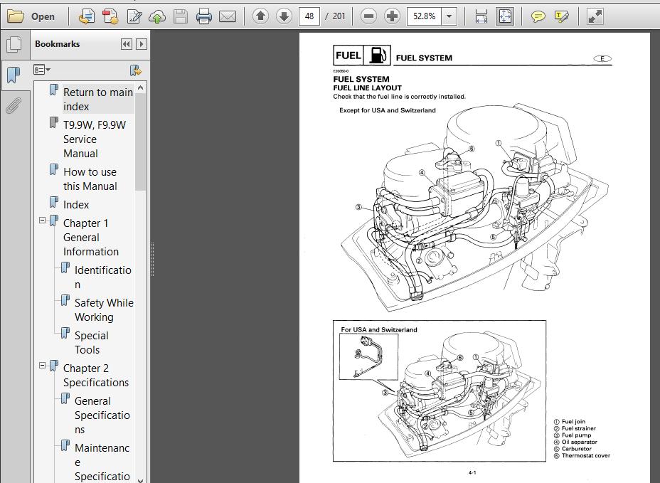 2010 Yamaha T9 9w F9 9w Hp Service Repair Manual
