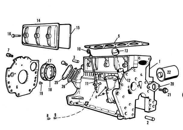 Allis Chalmers 540 Wheel Steer Loader Parts Catalog Manual