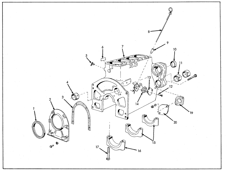 Allis Chalmers I 60 I 600 Industrial Tractors Parts
