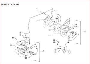 Arctic Cat Bearcat 454 4x4 Atc Replacement Parts Manual