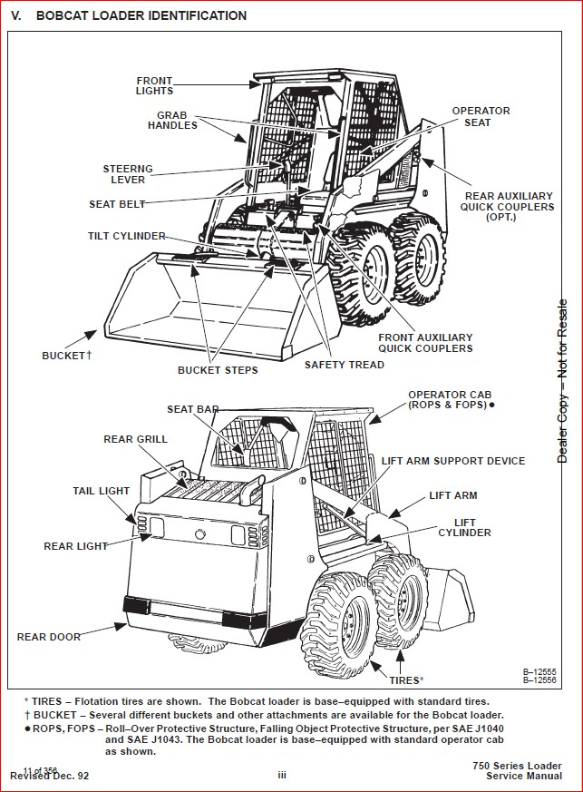 BOBCAT 753 LOADER SERVICE REPAIR WORKSHOP MANUAL DOWNLOAD
