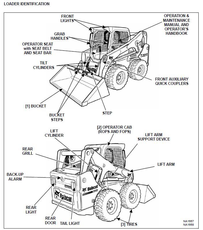 Bobcat S650 Skid Steer Loader Operation & Maintenance
