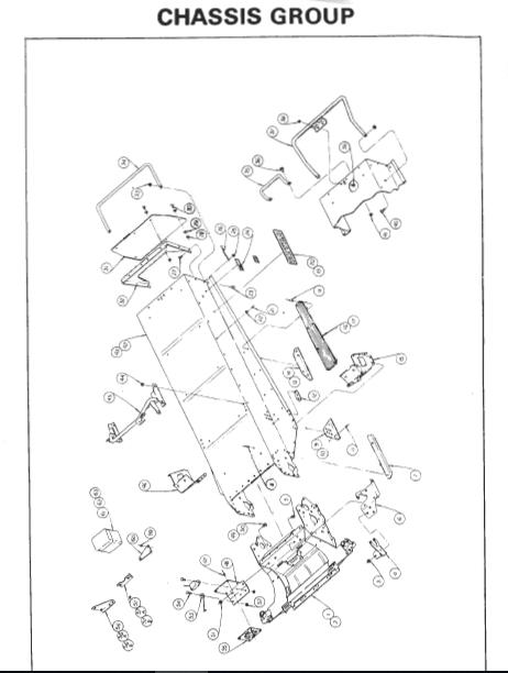 1976 Rupp Nitro Magnum Snowmobile Parts Manual PDF