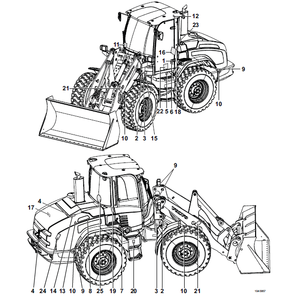Operator Manual Volvo L40f L45f PDF DOWNLOAD