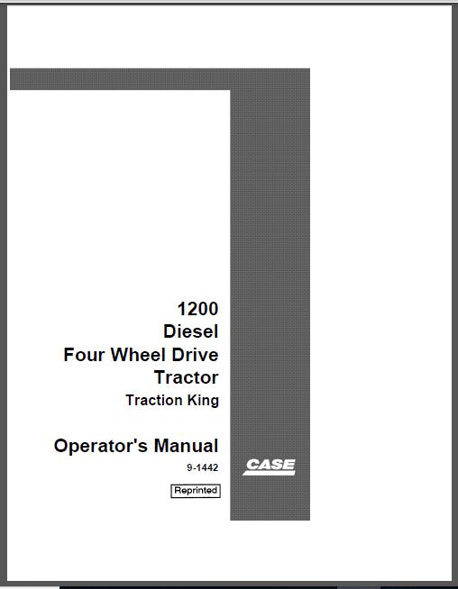 Case IH Magnum 225 250 280 310 335 Tractors Operators