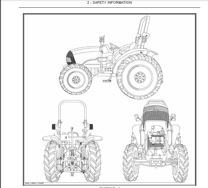 Case IH Tractor Farmall 45A, Farmall 50A Operator's Manual