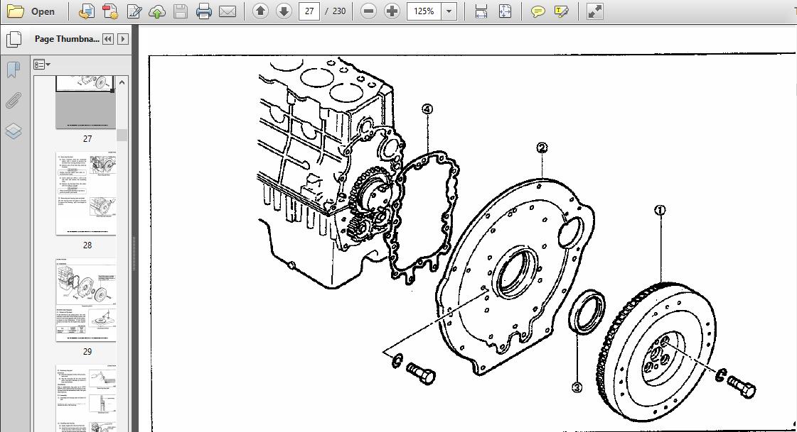 Case IH Tractor MAXXFARM 40, MAXXFARM 50 Service Manual