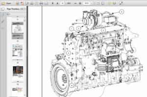 Case IH Tractor Magnum Rowtrac 250, 280, 310, 340 PST