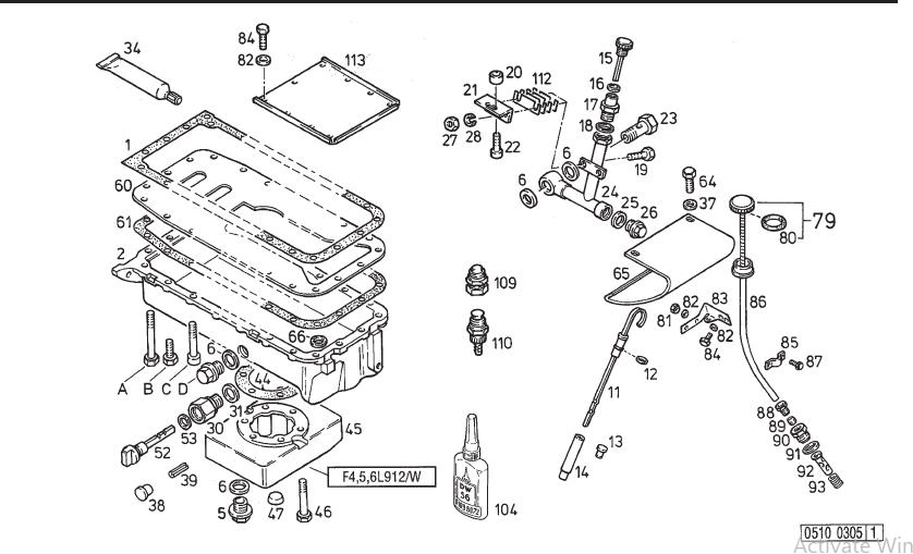 Deutz 912 Diesel Engine Parts Part Epc Ipl Manual