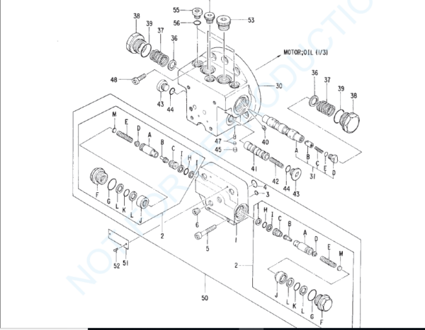 Hitachi Ex22 Excavator Equipment Components Parts Catalog