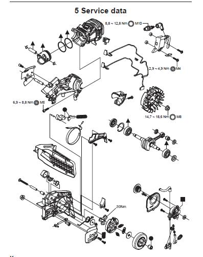 Husqvarna T435 Chainsaw Repair Manual Manual Guide
