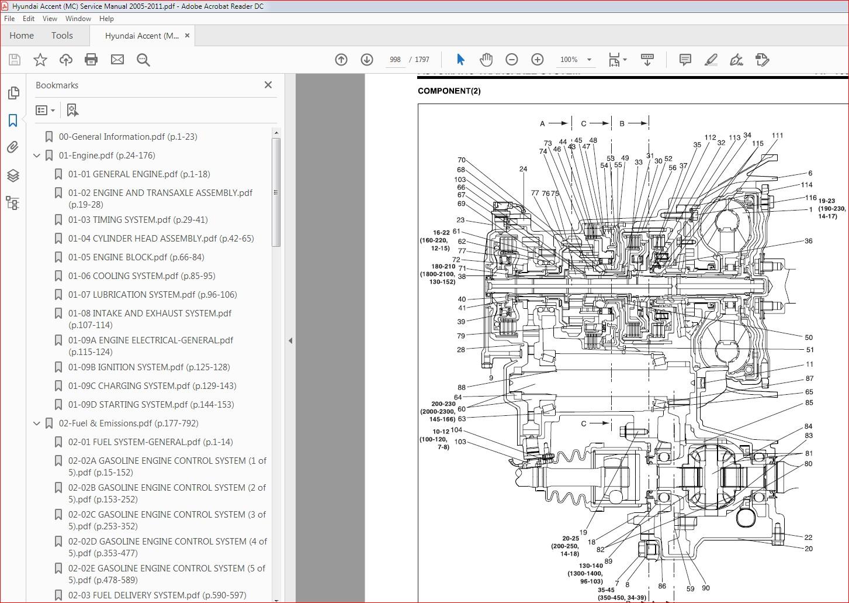 2002 Hyundai Accent Service Manual Pdf