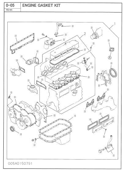Isuzu A 4bg1 A 4bg1t Bb 4bg1t Dd 4bg1t Parts Manual