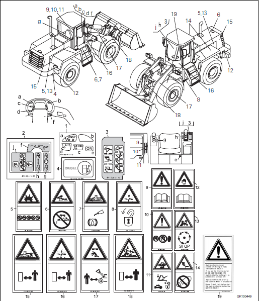 Komatsu Wa470-3h Operation And Maintenance Manual PDF
