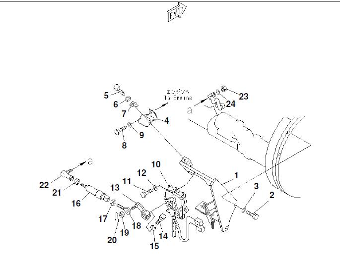 Komatsu Pc120 6e0 Hydraulic Excavator Parts Book