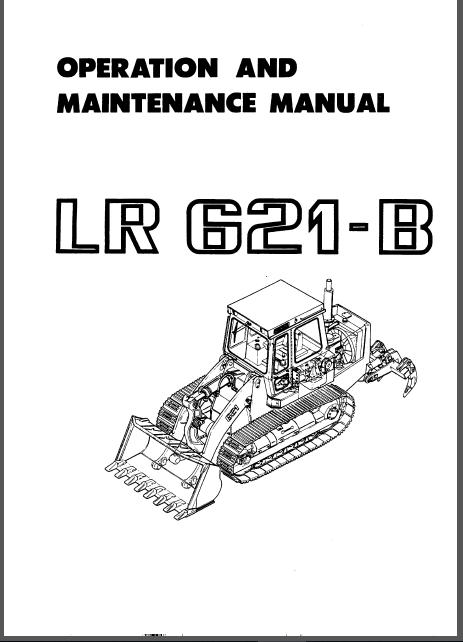 Liebherr Lr621 B Crawler Loader Operation Maintenance