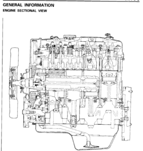 Mitsubishi Diesel Engine 4d56t 4d56 Service Repair Manual