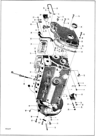 Reservdelskatalog Volvo Bm 425 Traktor Service Manual