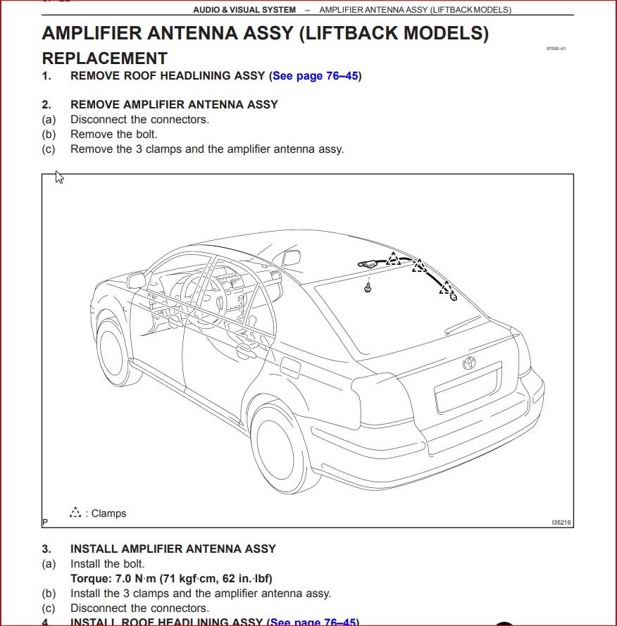 toyota avensis 2002 - 2007 complete service repair manual - download ~  heydownloads - manual downloads  heydownloads