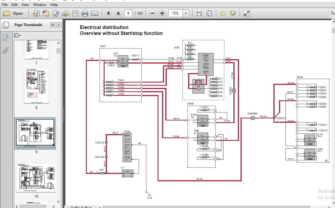 Volvo S60 V60 2014 Electrical Wiring Diagram Manual Instant - Download ~  HeyDownloads - Manual Downloads | Volvo S60 Headlight Wiring Diagram |  | HeyDownloads