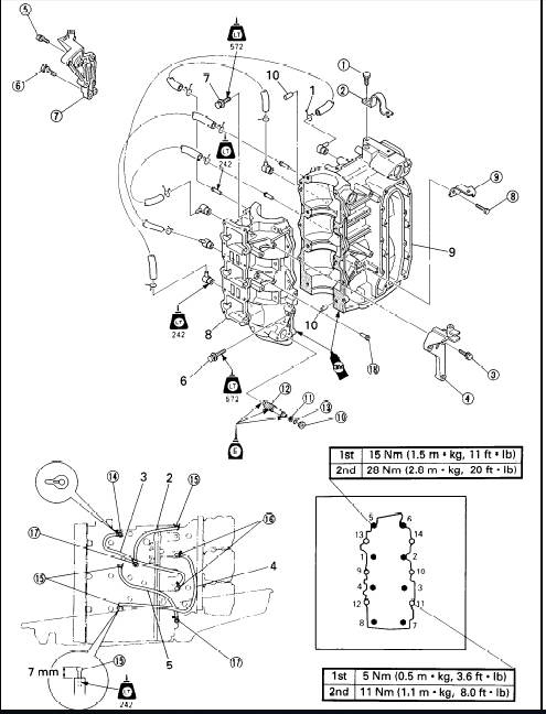 YAMAHA 40V 40W 50H 50W OUTBOARD WORKSHOP SERVICE MANUAL