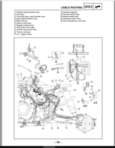 2004-2006 Yamaha Bruin 350 4x2 Service Manual And Atv