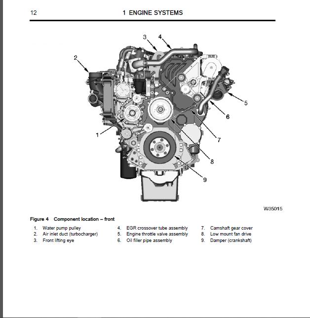 2012 Navistar Maxxforce 15 Engine Diagnostic