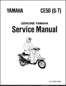 Yamaha Jog 50 Ce50 Cg50 86-91 Scooter Service Repair