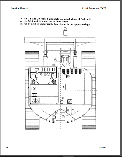 Ingersoll Rand ZX75, ZX125 Load Excavator Shop Manual