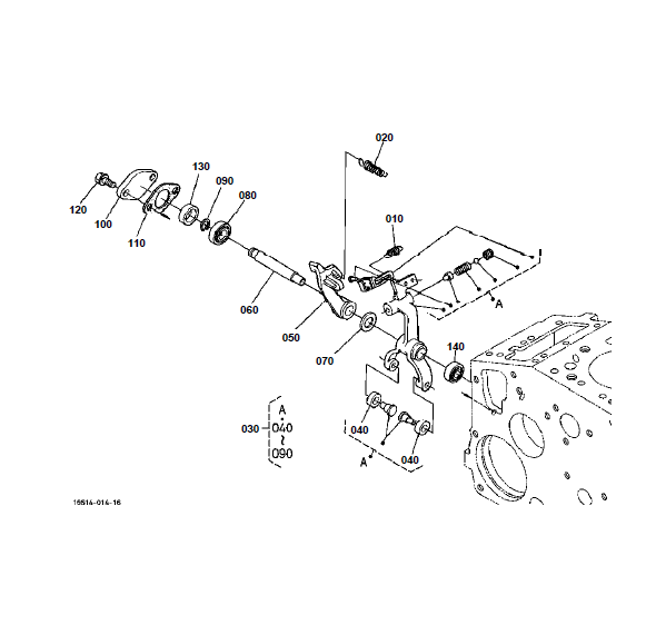 Kubota B7800HSD Tractor Illustrated Master Parts List