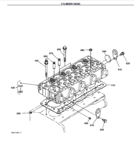 Kubota B7800HSD Tractor Illustrated Master Parts List