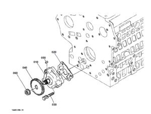 Kubota BX1500D Tractor Illustrated Master Parts List