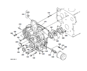 Kubota BX23D Tractor Parts Manual Illustrated Master Parts