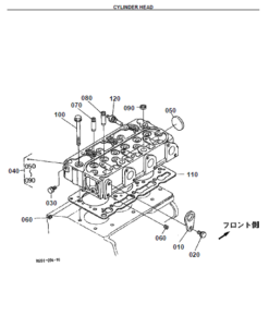 Kubota F2400 Mower Illustrated Master Parts List Manual