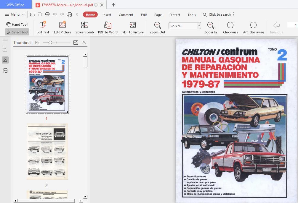 Mercury PDF Free Download