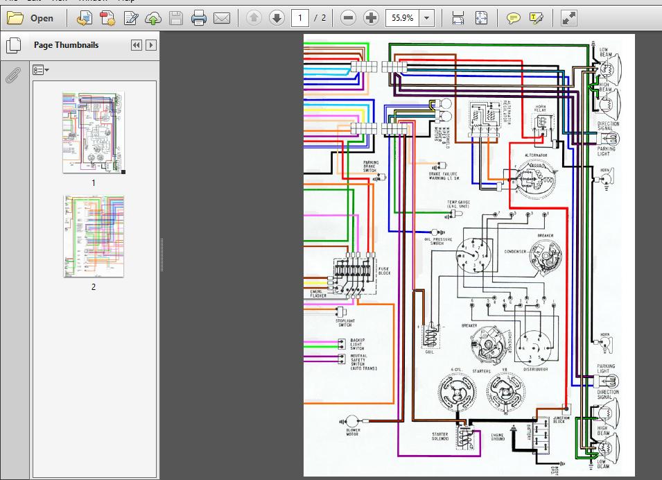 Pontiac Firebird Wiring Diagrams 67 68 69 Models - PDF ...