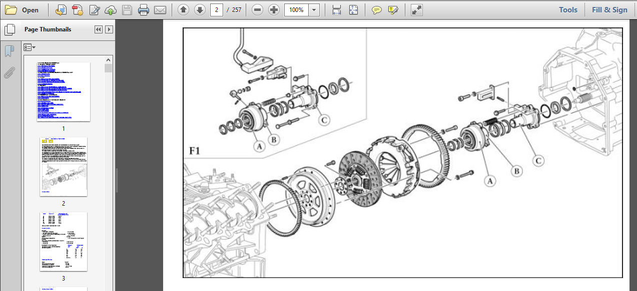 Specialist Ferrari 360 Gearbox Transmission Workshop