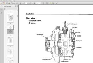 Yanmar diesel Engine Models L40AE, L48AE, L60AE, L70AE