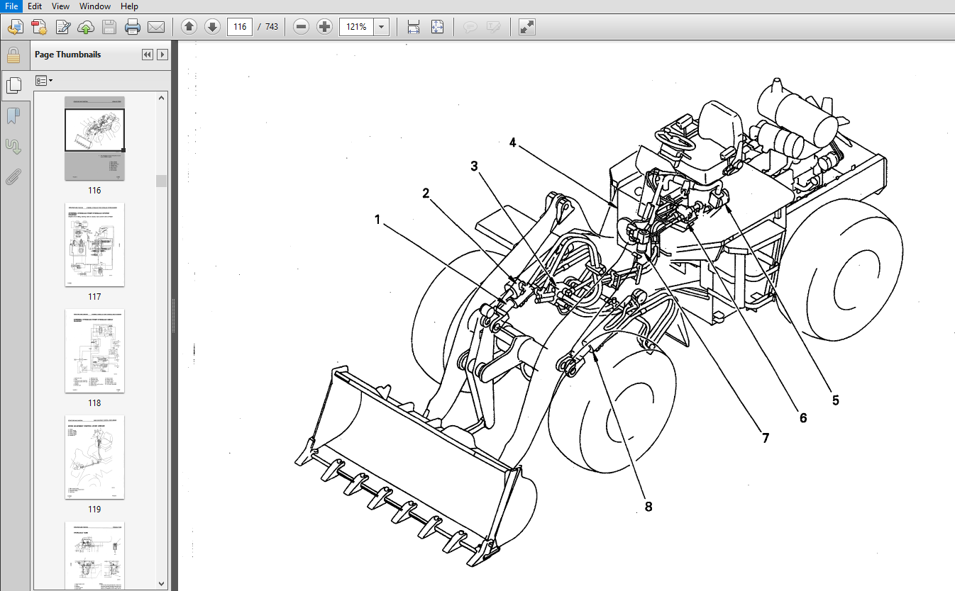 Komatsu WA250-3 Avance Loader Wheel Loader Shop Manual