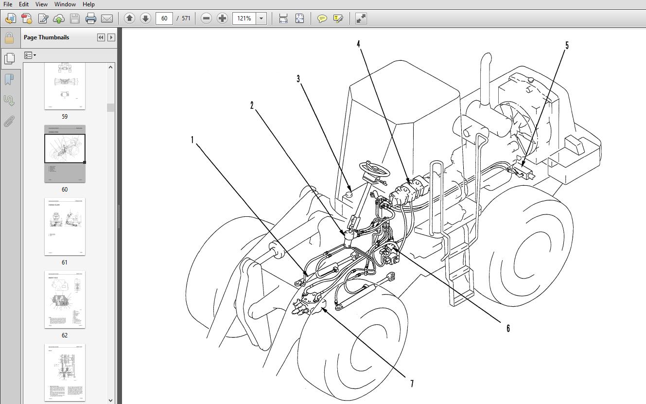 Komatsu WA300L-3 Avance Loader Wheel Loader Shop Manual