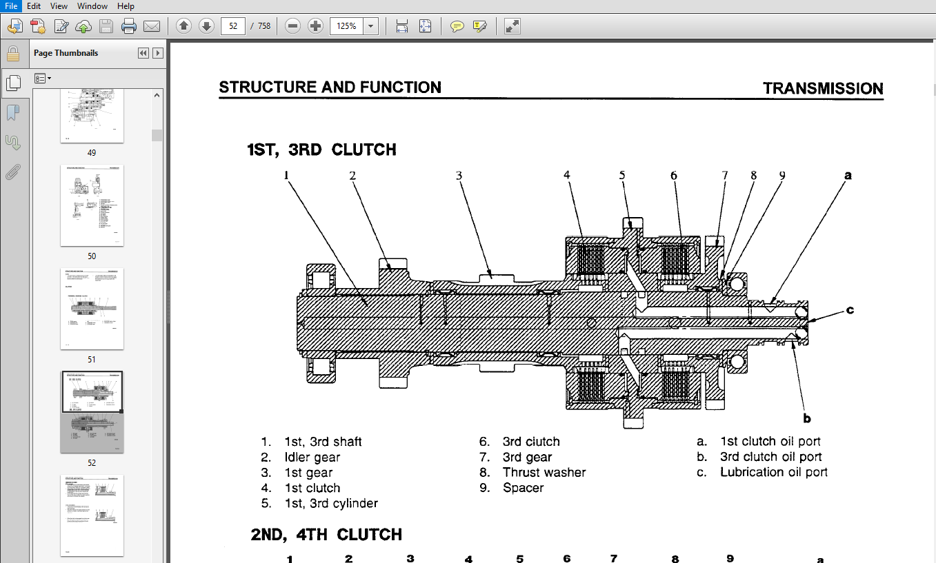 Komatsu WA380-3, WA380-3LE Wheel Loader Shop Manual