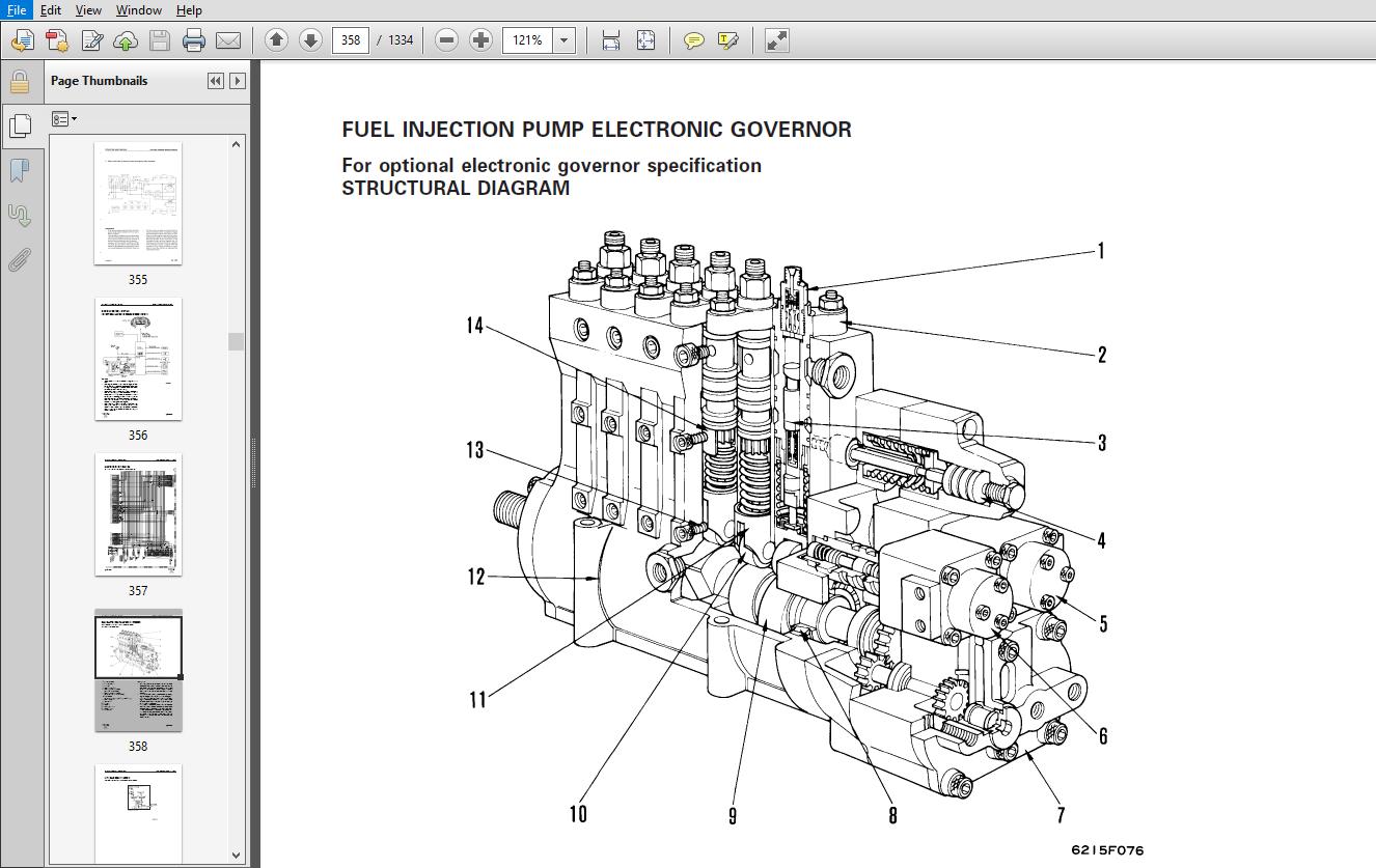 Komatsu WA800-3 Avance Loader Wheel Loader Shop Manual
