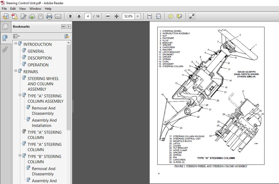 Hyster E20 25B, E30BS service manual - PDF DOWNLOAD ~ HeyDownloads - Manual  Downloads | Hyster Monitor Wiring Diagram |  | HeyDownloads